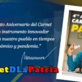 carnet de la patria cuarto aniversario