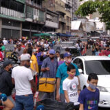 coronavirus, la hoyada, venezuela, personas tapabocas aglomeramientos 4